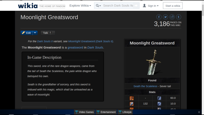 Moonlight Greatsword